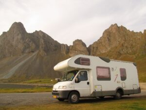 Camping-car en nature